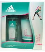 ADIDAS HAPPY GAME (ATOMIZER 75ML+ ŻEL) ZESTAW