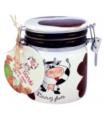 DAIRY FUN 300G SŁOIK B.SCRUB CARMEL/ APPLE