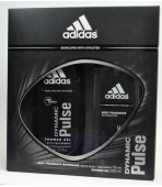 ADIDAS DYNAMIC PULSE (ATOMIZER 75ML +ŻEL) ZESTAW