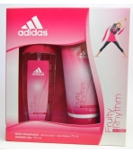 ADIDAS FRUITY RHYTHM (ATOMIZER 75ML+ ŻEL) ZESTAW