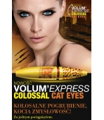 MAYBELLINE TUSZ COLOSSAL CAT EYES BLACK