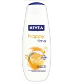 NIVEA ŻEL POD PRYSZNIC 500ML HAPPY TIME (150ML GRATIS)