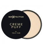 MAX FACTOR PUDER 81 CREME PUFF TRULY FAIR
