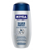 NIVEA ŻEL POD PRYSZNIC SILVER PROTECT FOR MEN 250ML