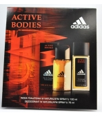 ADIDAS ACT.BODIES (EDT 100ML+ ATOM.75ML)  ZEST.