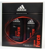 ADIDAS TEAM FORCE (DEZODORANT 150ML +ŻEL)  ZESTAW