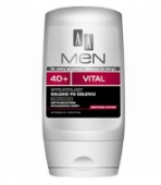 AA MEN VITAL 40+ BALSAM PO GOLENIU 100ML