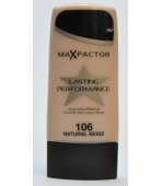MAX FACTOR FLUID LASTING PERFORMANCE 106 NATURAL BEIGE