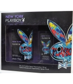 PLAYBOY NEW YORK (WODA TOALETOWA 50ML+ATOMIZER 75ML)  ZESTAW