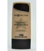 MAX FACTOR FLUID LASTING PERFORMANCE 109 NATURAL BRONZE