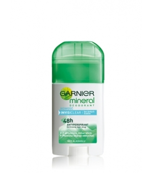GARNIER 40ML DEO STICK INVISI CLEAR