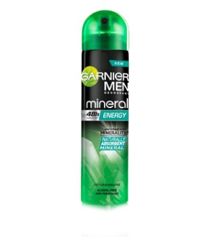 GARNIER DEO MEN 150ML SPRAY ENERGY