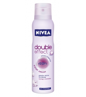 NIVEA DEO 150ML DOUBLE EFFECT VIOLET SENSES SPRAY