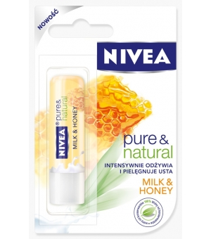 NIVEA POMADKA MILK & HONEY