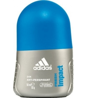 ADIDAS FRESH IMPACT  50ML DEO ROLL-ON