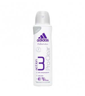 ADIDAS ACTION 3 150ML DEO PROCLEAR WOMAN