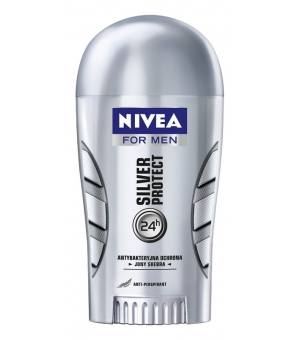 NIVEA DEO STICK 40ML SILVER PROTECT